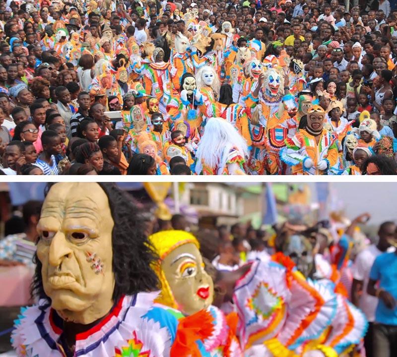 10 carnavales africa