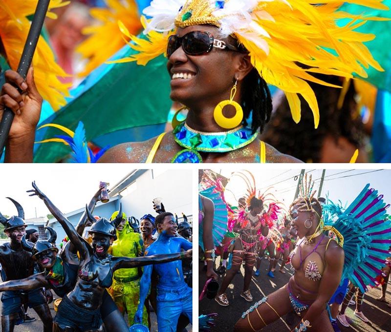 10 carnavales del caribe