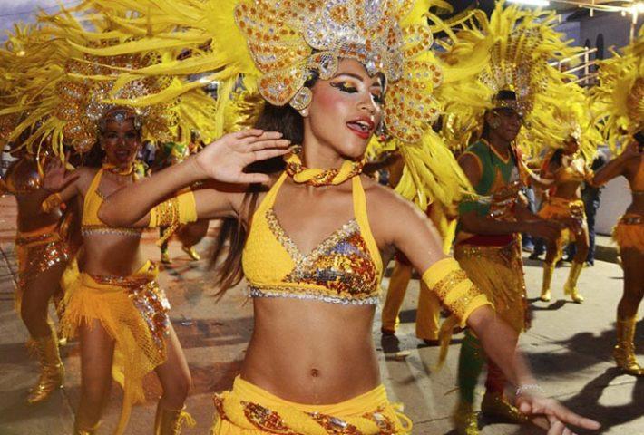 carnavales america del sur