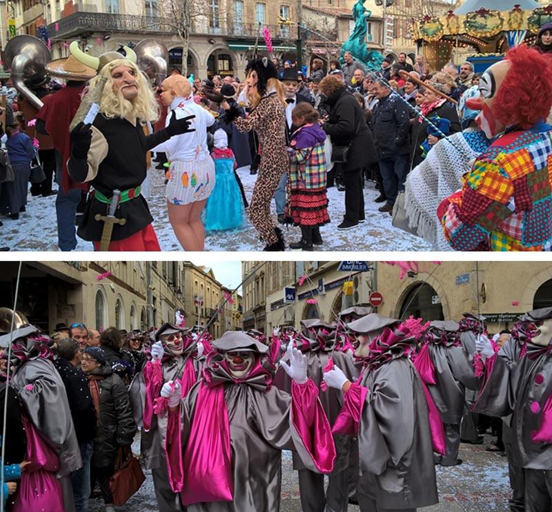10 france carnivals
