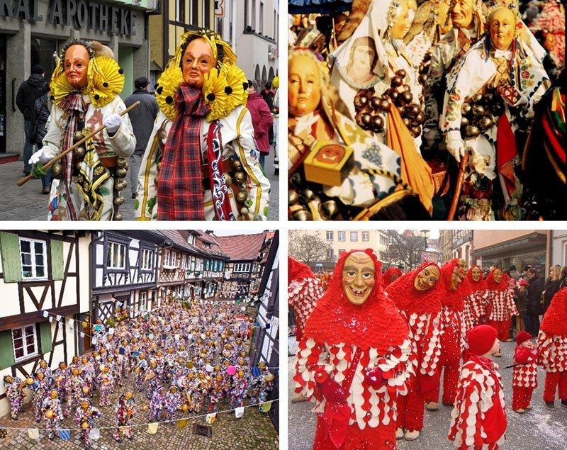 10 carnavales alemania