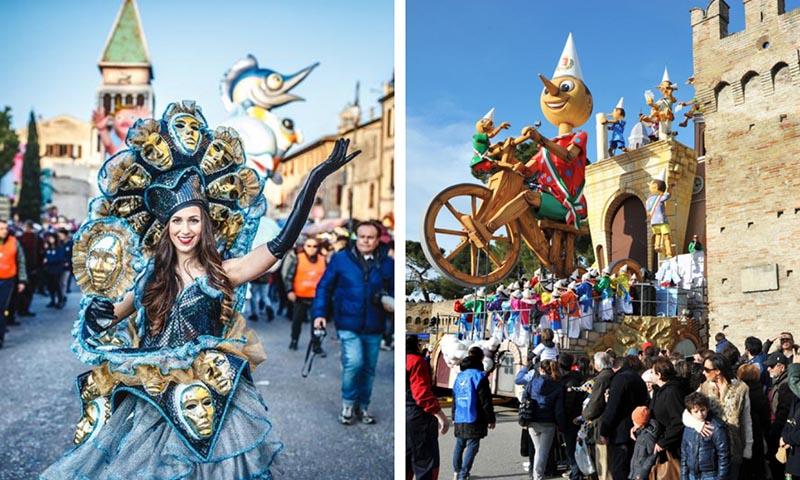 10 carnavales italia