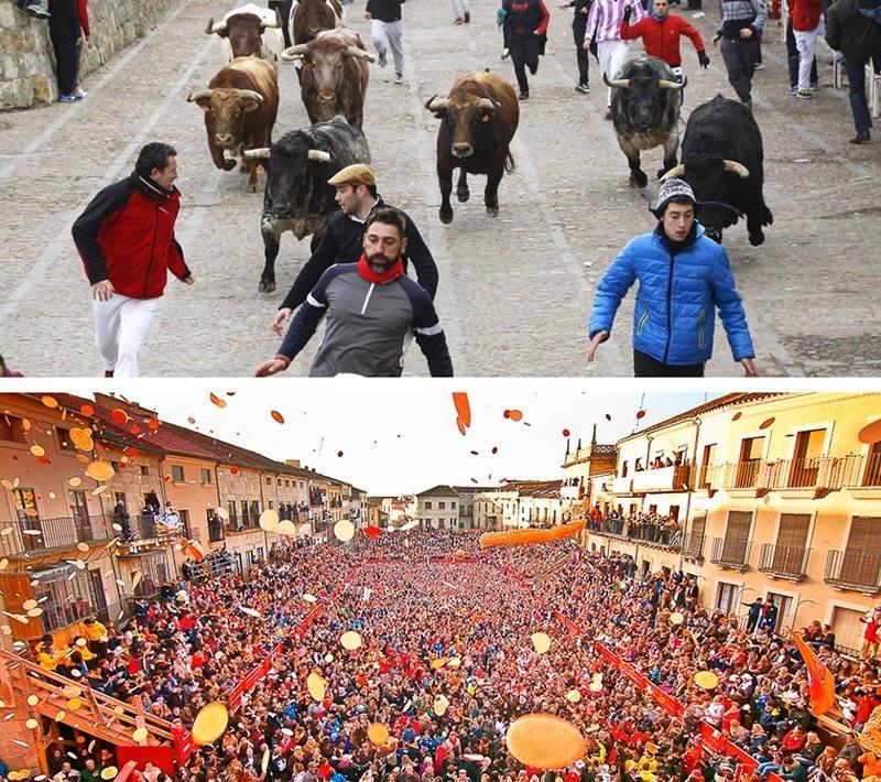12 carnavales españa