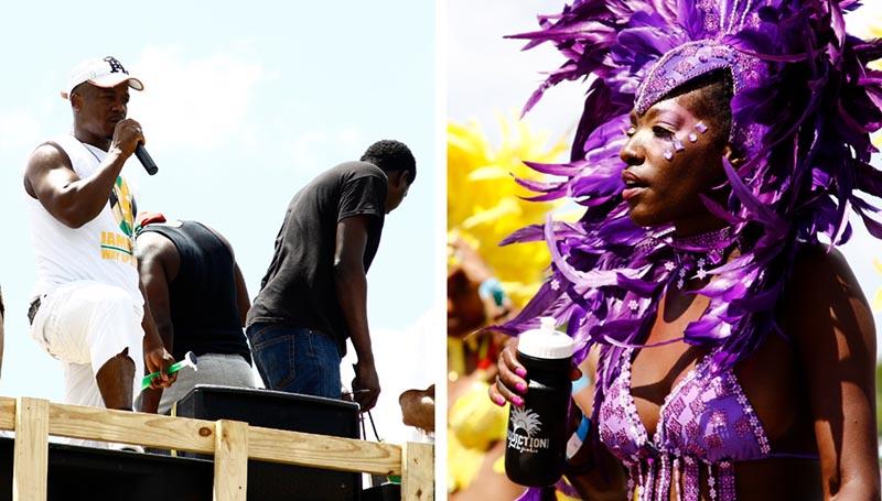 houston carnival street music