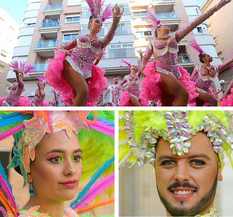carnaval aguilas desfile