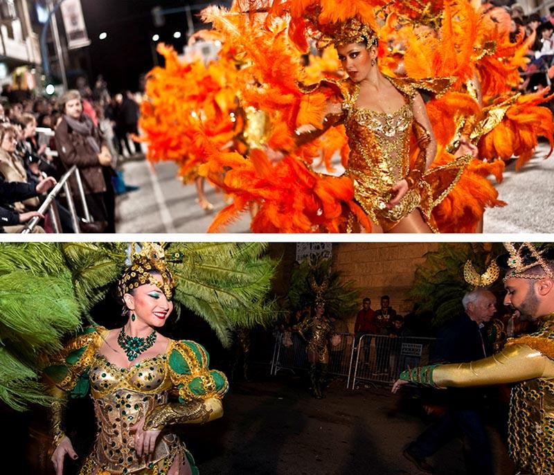 carnaval de aguilas fiesta