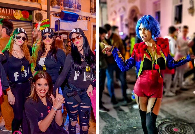 carnaval de aguilas noche