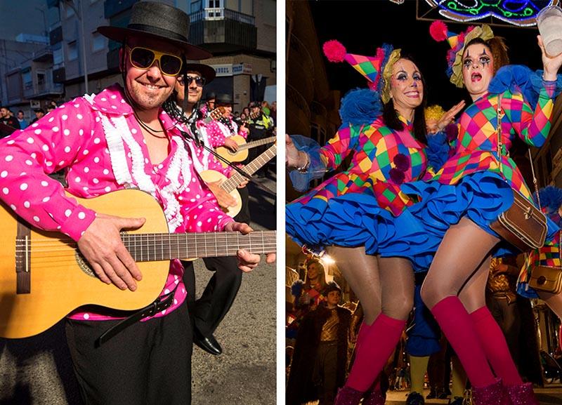 carnaval de aguilas gente