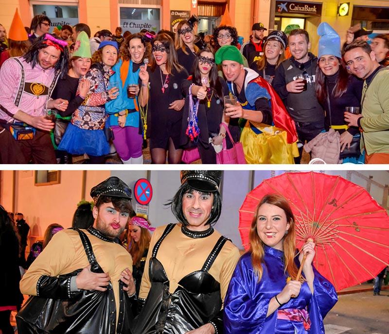 aguilas carnival night