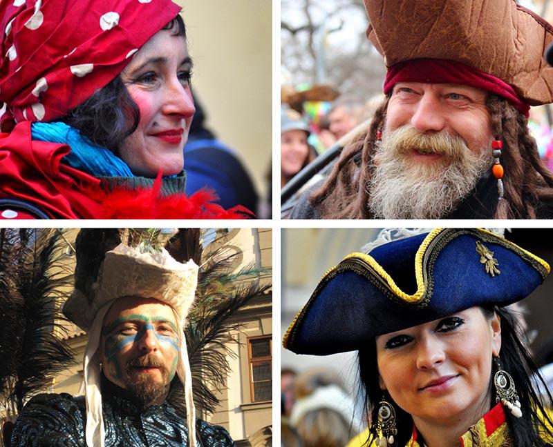 prague carnival beautiful costumes