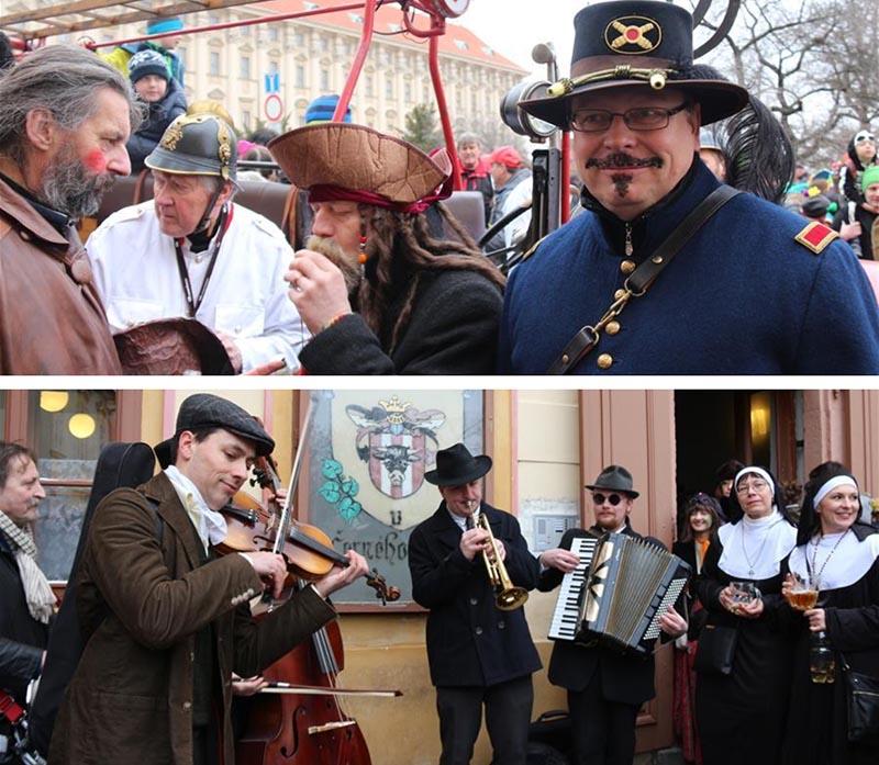 prague carnival street music