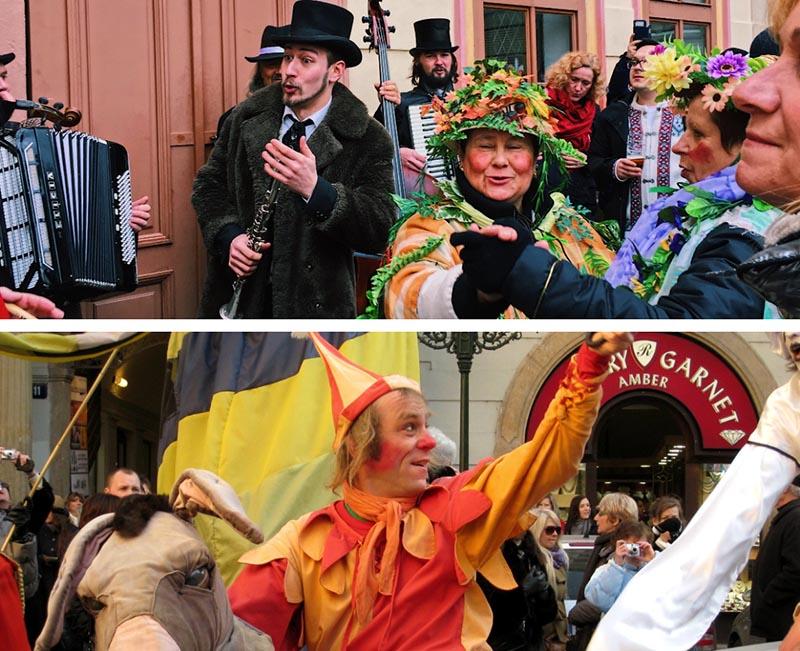 prague carnival street party