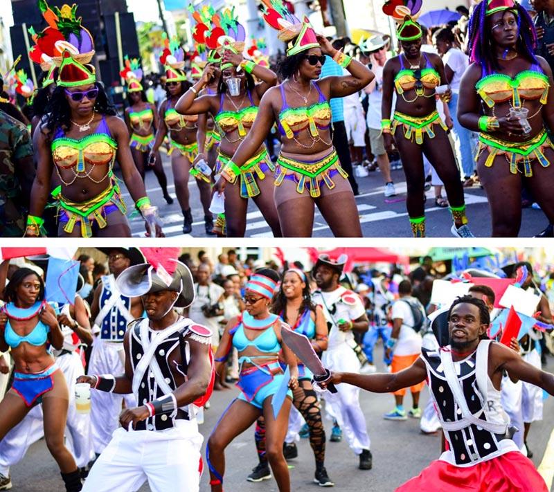 carnaval nacional de san cristóbal y nieves