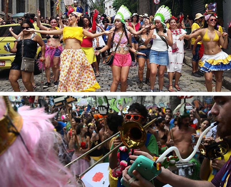 Blocos Rio de Janeiro Carnival
