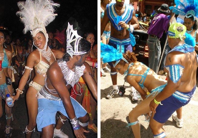 carnavales caribe diccionario