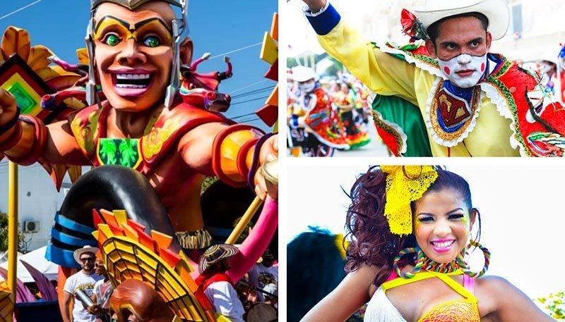 carnaval de barranquilla y chicas guapas