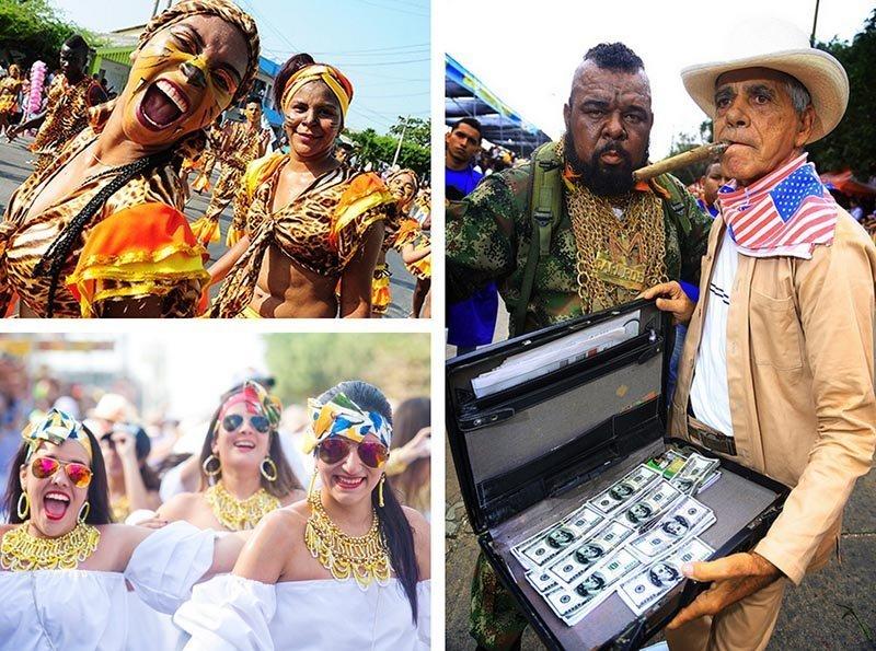 Carnaval de barranquilla y equipo A