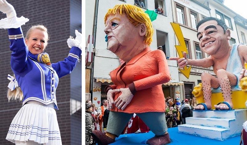 Carnaval de Colonia Muñecas de cabalgata