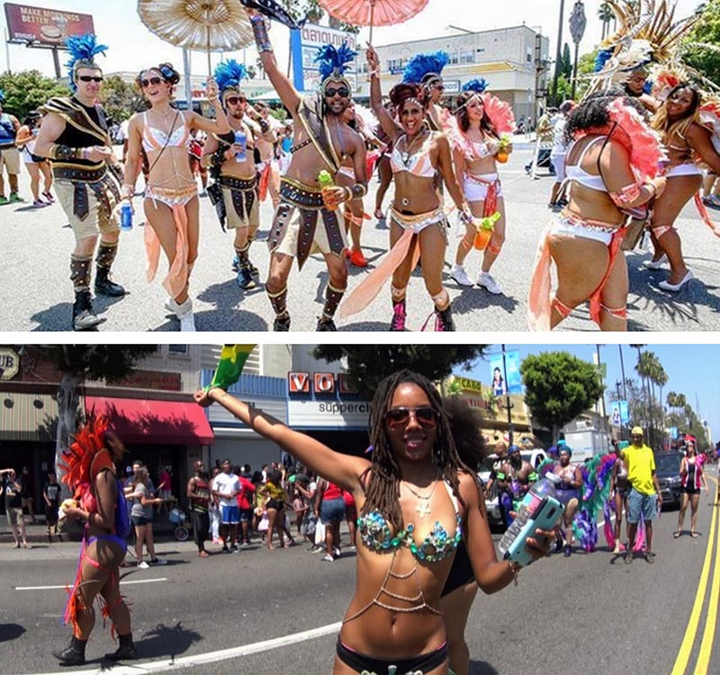 hollywood carnival