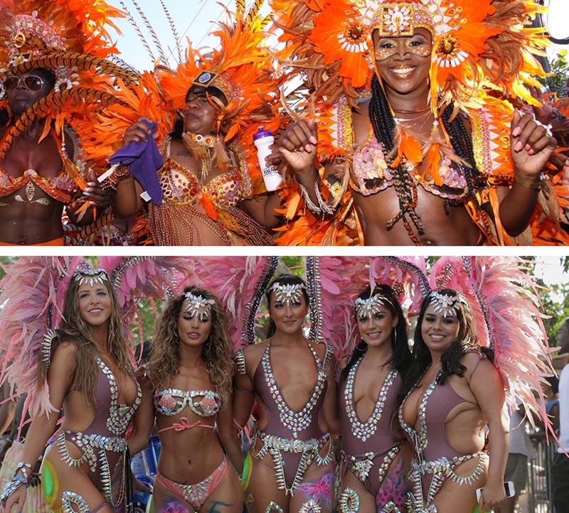 Junkanoo Carnival Beautiful girls
