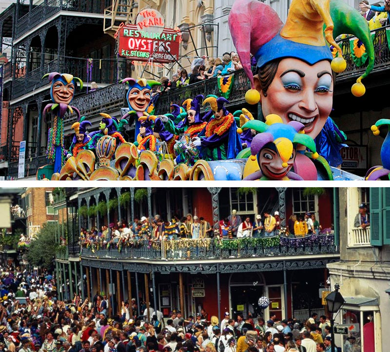 new orleans mardi gras carnival