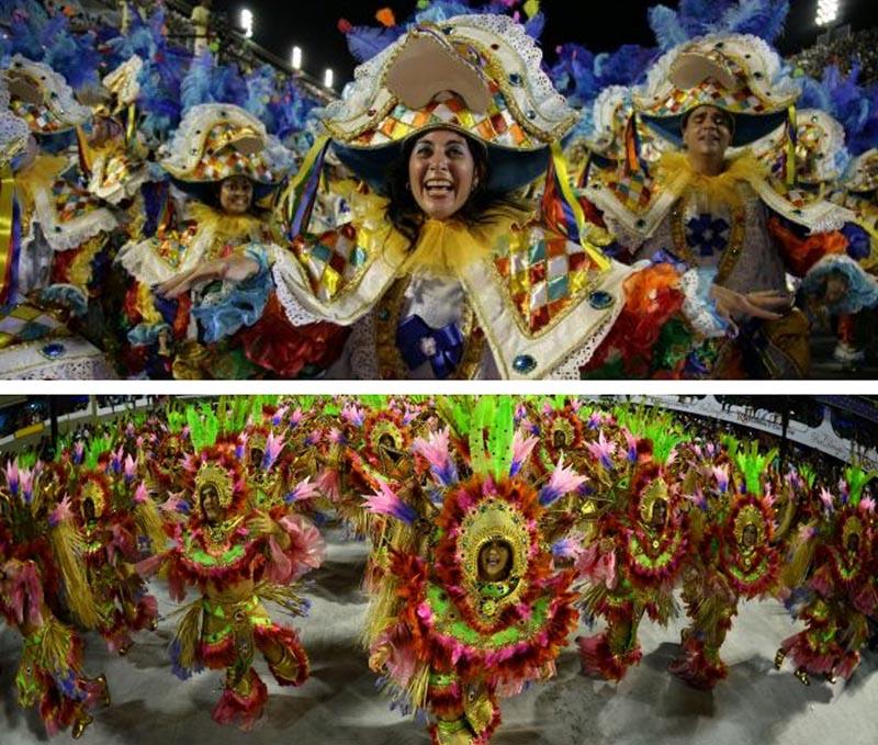 desfiles samba carnaval rio