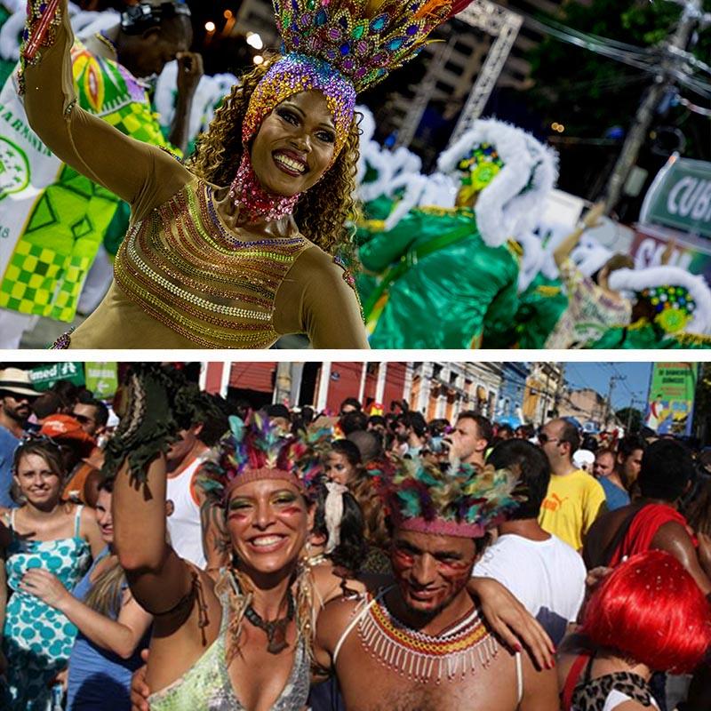 salvador vs rio carnival