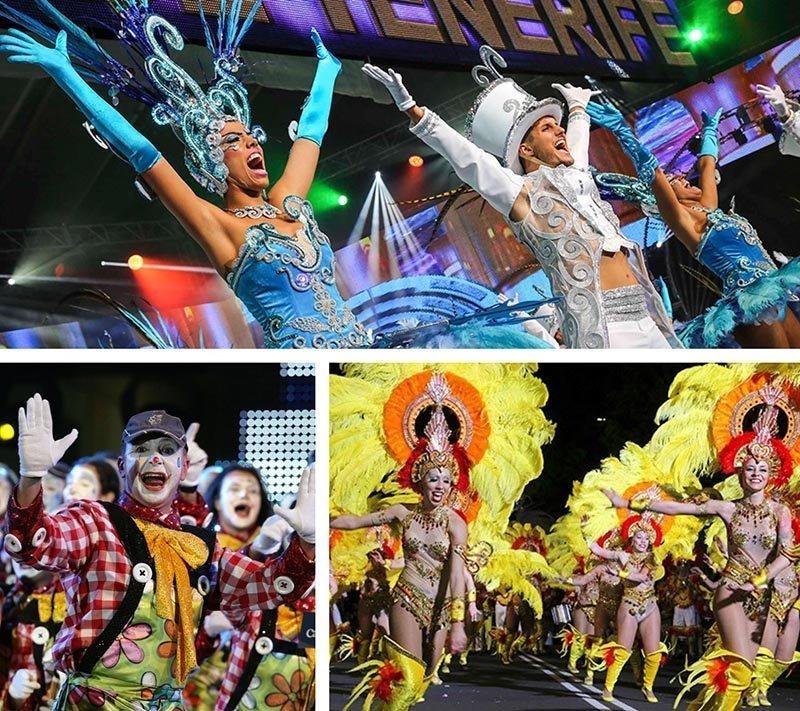tenerife carnival people choreography dance