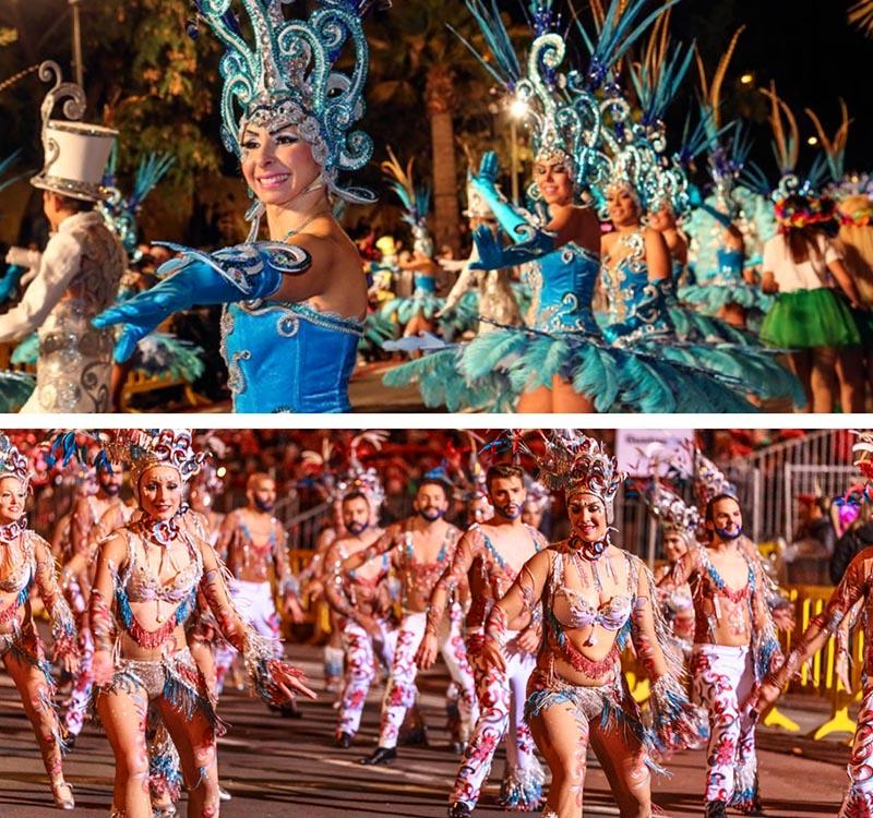 tenerife carnival things